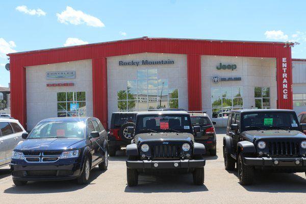 Rocky Mountain Dodge Chrysler Dodge Ram Trucks Alberta Rocky Mountain House