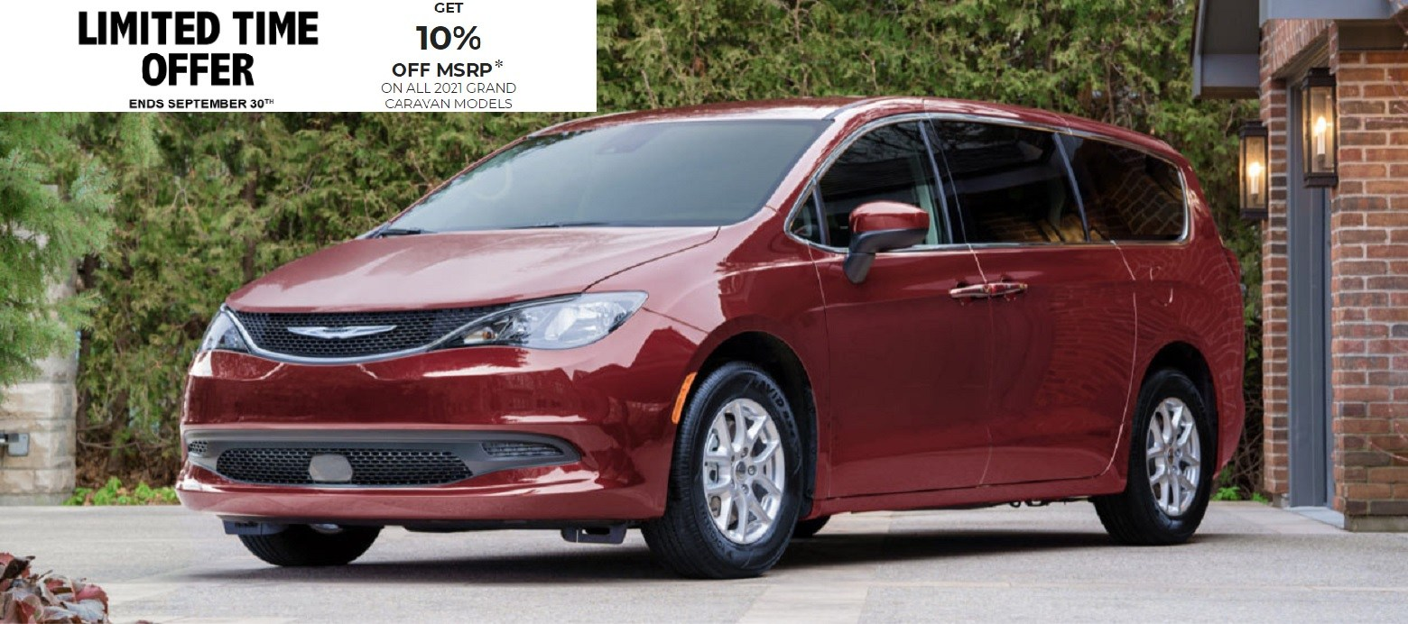 2021 Chrysler Grand Caravan Special Offers Incentives Rocky Mountain Dodge Alberta