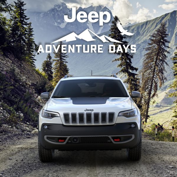 Jeep Cherokee Adventure Days Get 7.5% Off MSRP plus up to $1,500 in Bonus Cash and up to $2,000 in Loyalty Cash for select owners Rocky Mountain Dodge Alberta Red Deer