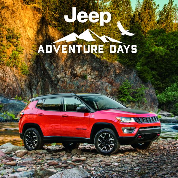 Jeep Compass Adventure Days Rocky Mountain Dodge Alberta Red Deer Sylvan Lake Get 7.5% Off MSRP plus up to $1,500 in Bonus Cash and up to $2,000 in Loyalty Cash for select owners