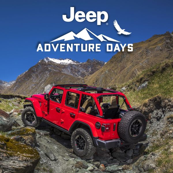 Jeep Wrangler Adventure Days Finance for as low as 3.49% for up to 96 months on all 2021 Jeep Wrangler models Rocky Mountain Dodge Alberta Red Deer